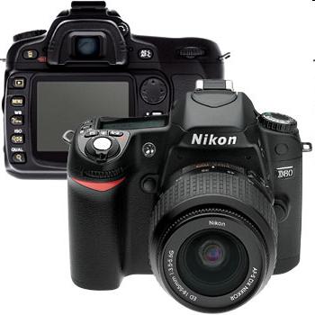 Nikon D80 Digital Came...